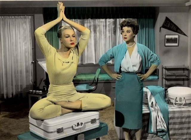 1961. Julie Newmar, Susan Hayward - The marriage-go-round