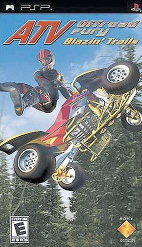 ATV psp - ATV Offroad Fury Blazin Trails PSP