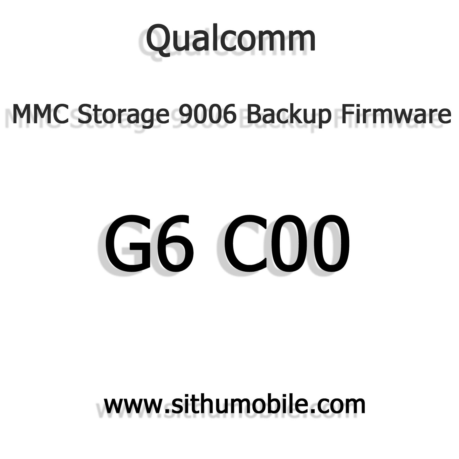 g6 c00 mmc storage 9006 backup firmware download