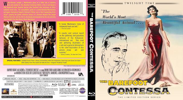 The Barefoot Contessa Bluray Cover