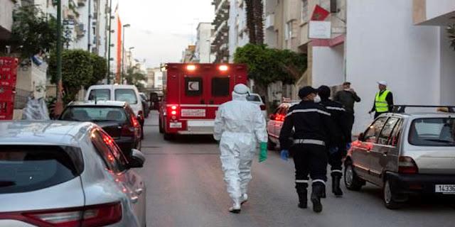 """تفاصيل التوزيع الجغرافي لإصابات """"كورونا"""" الجديدة في المغرب"""