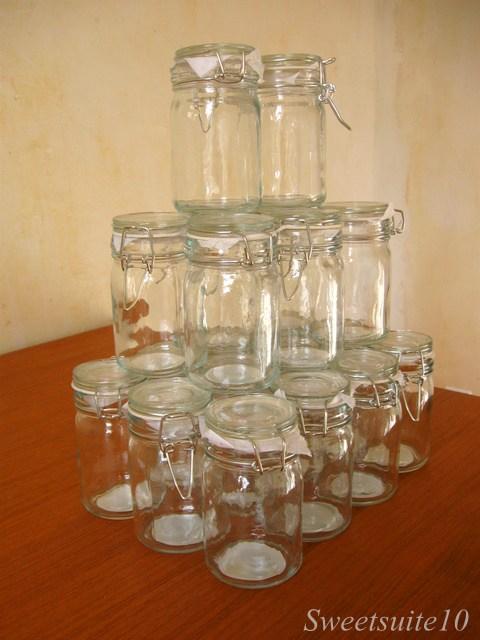 Dollar store mason jars