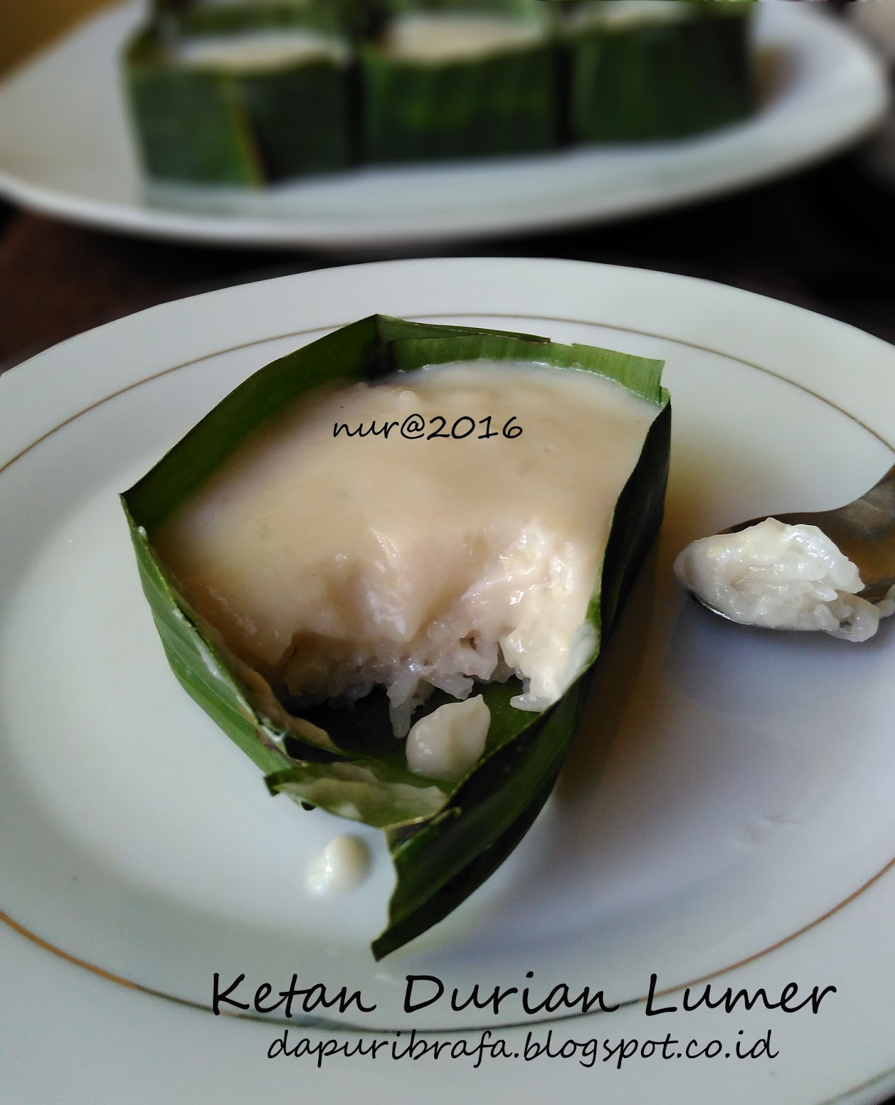 Cara Membuat Ketan Durian : membuat, ketan, durian, Dapur, IbRafa:, Ketan, Durian, Lumer