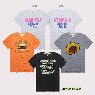 SNICK Television Series T-Shirt Collection by Homage x Nickelodeon