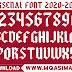 🔥🔥🔥Arsenal  Free Football Font_Arsenal 2020-21 Football Font Free Download by M Qasim Ali🔥🔥🔥
