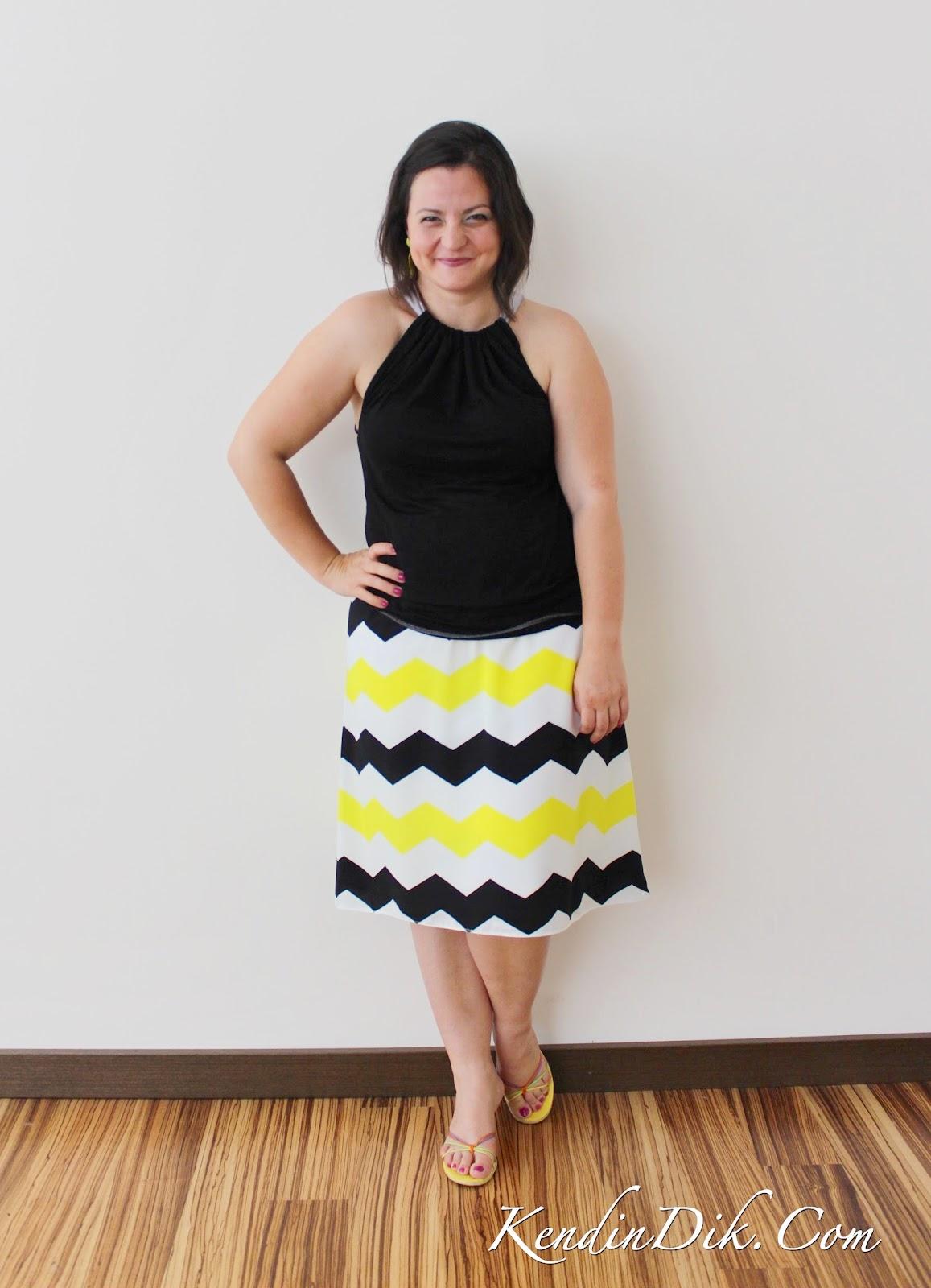 zigzag etek moda blogları