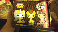MLP Funko Pocket Pop Tin 3 pack-Celestia, Whooves, Twilight Sparkle