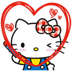 Hello Kitty Lovely Pop-Up Stickers