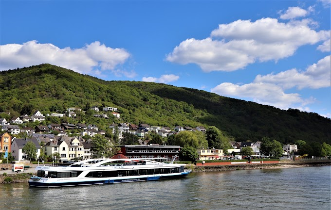 Cruise Ride on River Rhine