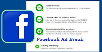 Cara Mendapatkan Uang Dari Facebook Ad Breaks