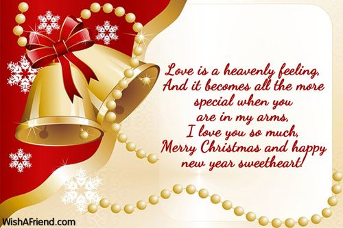 Christmas Greetings Message for Girlfriend