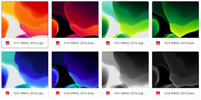 ดาวน์โหลด iOS13 Beta Wallpaper