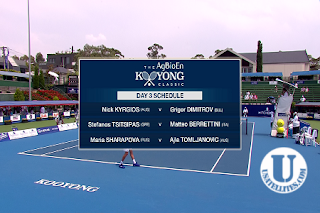 The AgBioEn Kooyong Classic AsiaSat 5 Biss Key 15 January 2020