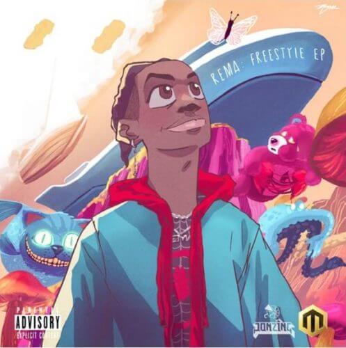 rema-biography-Rema's-Freestyle-EP-Artwork