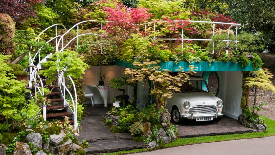 garage garden