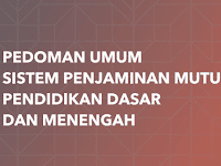 Download Pedoman Umum Sistem Penjaminan Mutu Pendidikan Dasar Dan Mengengah