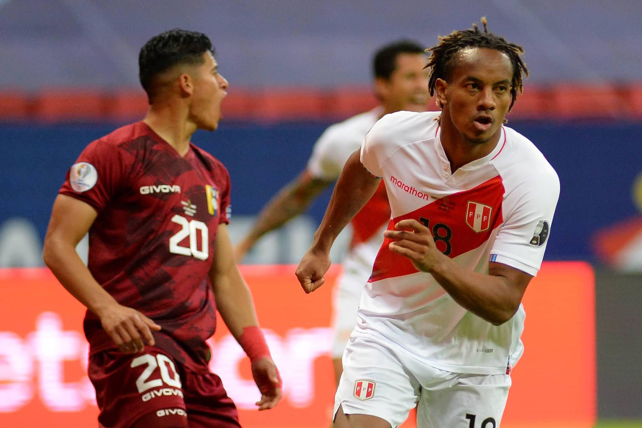 Perú venció a Venezuela y sacó boleto a los cuartos de final de la Copa América