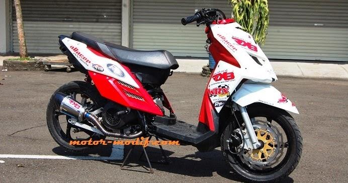 Modifikasi Motor X Ride 2014 Sumpah E