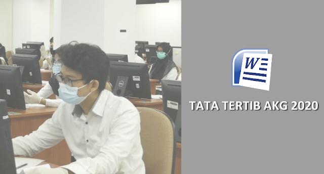 Tata Tertib, Sanksi dan Ketentuan Umum Pelaksanaan AKK dan AKG Madrasah Tahun 2020