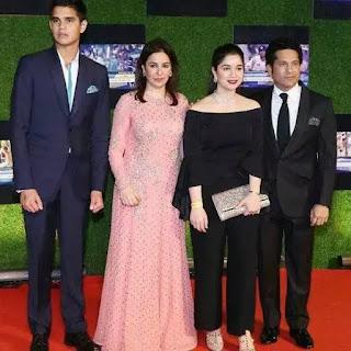Arjun Tendulkar Family