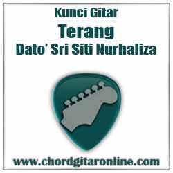 Chord Siti Nurhaliza Terang