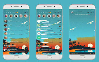 Landscape Theme For YOWhatsApp & Fouad WhatsApp By Leidiane