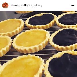 The Natural Foods Bakery lemon chocolate tarts