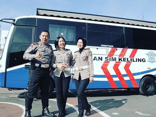 SIM Keliling Polrestabes Bandung