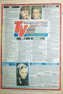 Back cover of the Sunday Sport tabloid newspaper from 8 May 1988