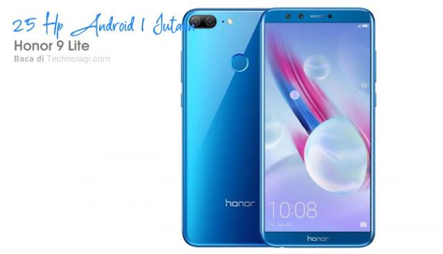 Hp Android Murah - Honor 9 Lite