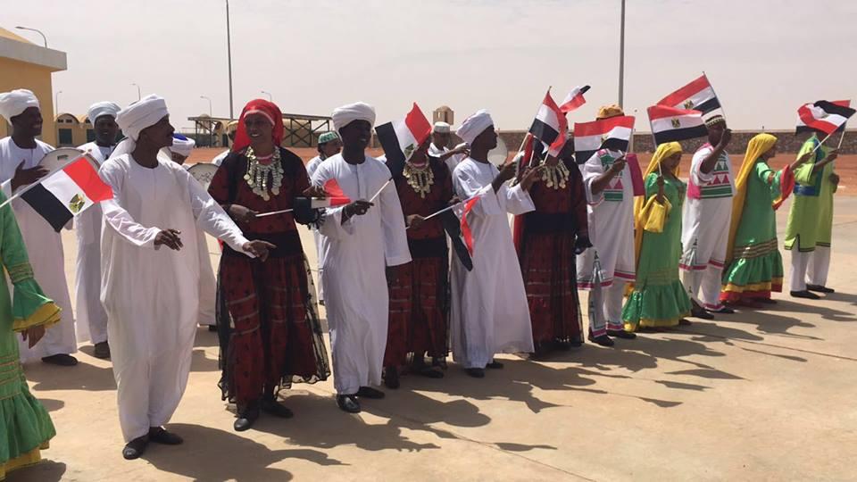 بالصور افتتاح مشروع بري مختصر بين مصر والسودان