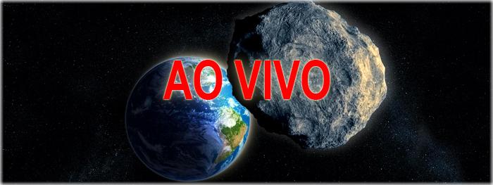 ao vivo - máxima aproximação do asteroide com a Terra em 19 de abril de 2017