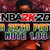 NBA 2K20 PATCH NOTES 1.03