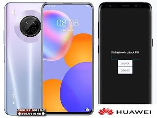 Huawei Y9a FRL-22, FRL-23, FRL-L22 Network, Country, Region, Unlock