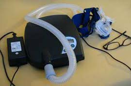 CPAP is the most fundamental treatment option for curing obstructive sleep apnea. In this treatment, a patient wears a mask throughout the nighttime that is attached to a machine through a tube. The CPAP device blows air into the mask to your airways. The pressure of the air is set by your therapist.