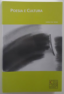 Poesia e Cultura, de Jorge de Sena
