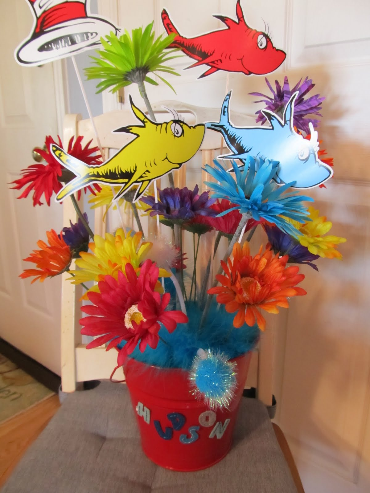 Stamping-Cooking-Knitting-My Life!: Dr. Seuss Centerpiece