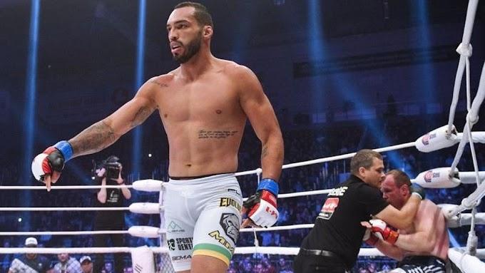 Cajazeirense Bruno Blindado estreia no UFC no sábado (19)