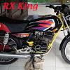 Berkreasi dengan RX King Modif Retro Untuk Tampilan RX King Lebih Istimewa