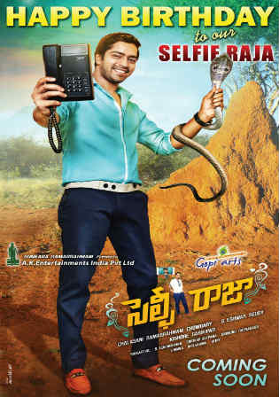 Selfie Raja 2016 HDRip 900MB UNCUT Hindi Dual Audio 720p Watch Online Full movie Download bolly4u