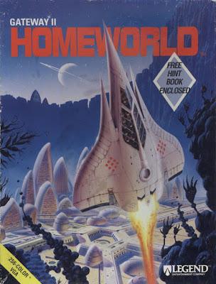 Portada videojuego Gateway II - Homeworld