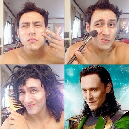 #MakeUpTransformation loki
