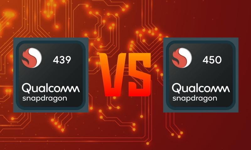 Perbandingan Snapdragon 439 vs Snapdragon 450
