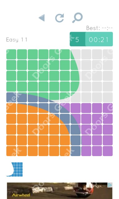 Cheats, Walkthrough for Blocks and Shapes Level 11