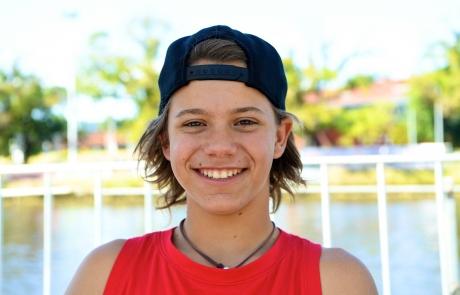 Con tan sólo 13 años, Patricio Font va a ser el deportista más joven de la delegación mexicana en los Juegos Mundiales 2013