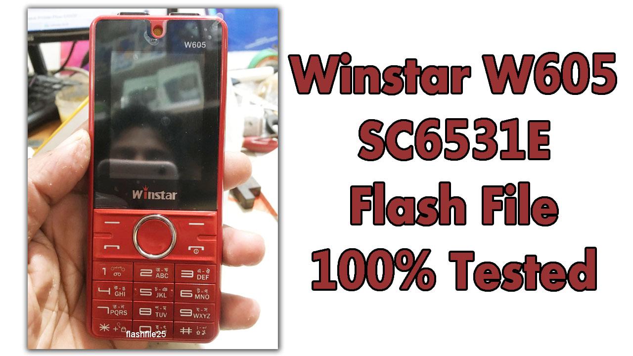 winstar w605 flash file