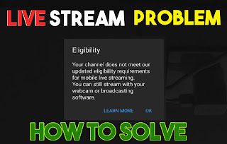Live streaming Eligibility Problem? How to Solve and Enable your Live stream [HINDI]