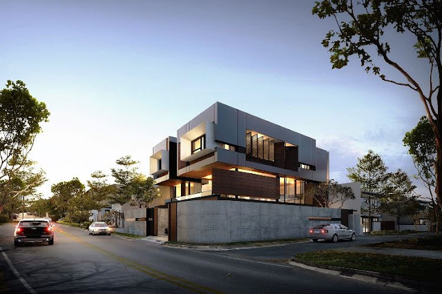 DH House by Nimara Architect 3D Rendering (img : pinterest.com)