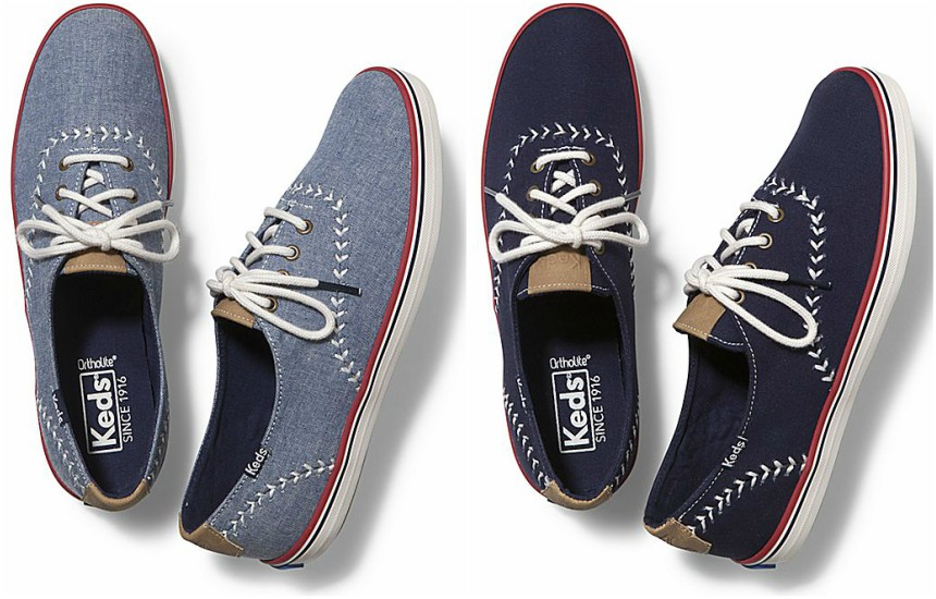 KEDS: Champion Pennant Sneakers only $22 (reg $55) + Free Shipping!