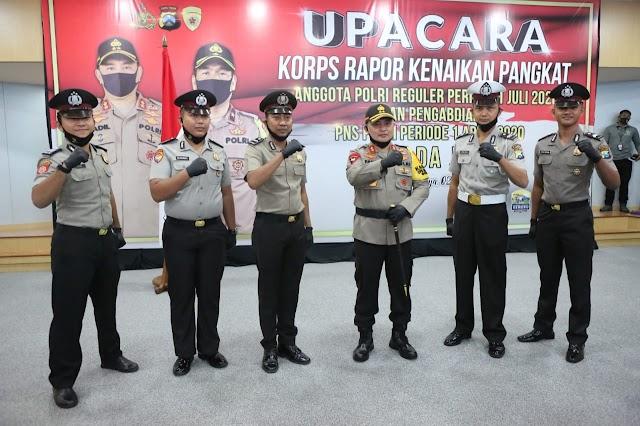 Kapolda Jatim Pimpin Korps Rapor Kenaikan Pangkat Polri